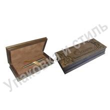 Деревянный футляр для ручки