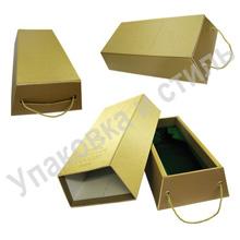 Подарочная коробка «Слиток» для бутылки
