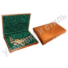 Деревянный короб для подарка