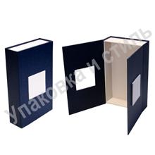 подарочная картонная коробка с замком