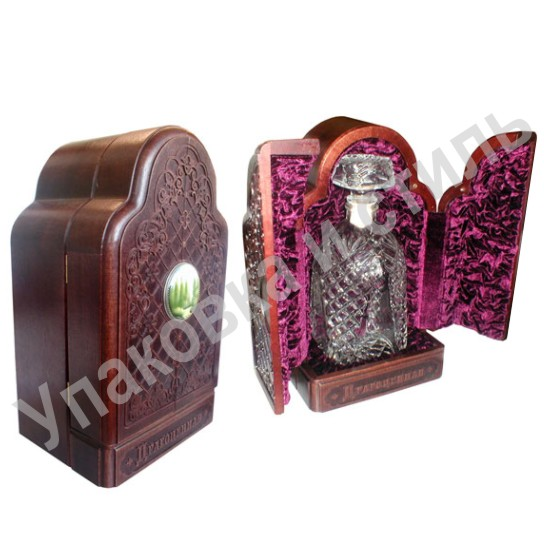 Подарочная драгоценная коробка с резьбой