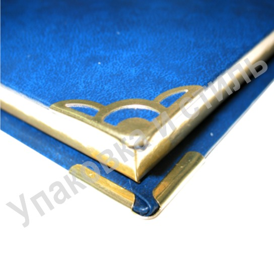 Уголок металлический для представительской папки