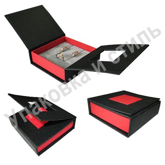 Подарочный футляр для сережек и кольца