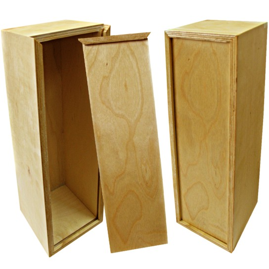Деревянная коробка для вина