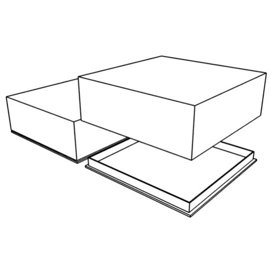 коробка под торт (А02)