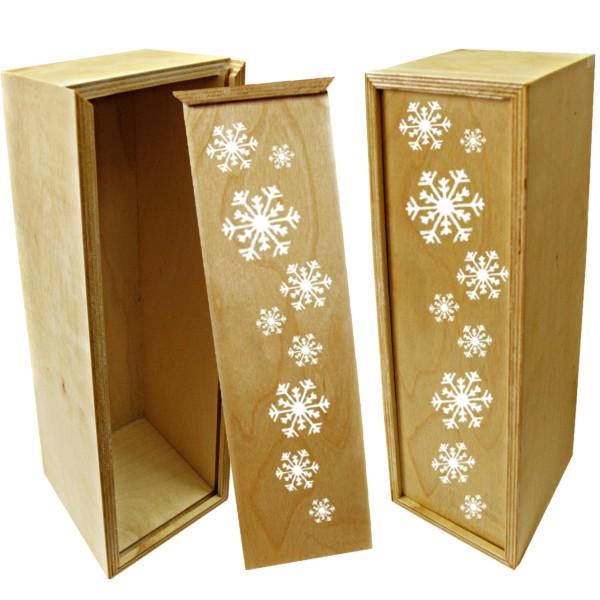 Подарочная деревянная коробка для вина